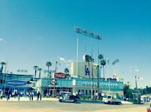 Dodgers Stadium, LA