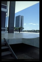 Oscar Niemeyer and Lucio Costa, Praça dos Tres Poderes, Brasília (1960)