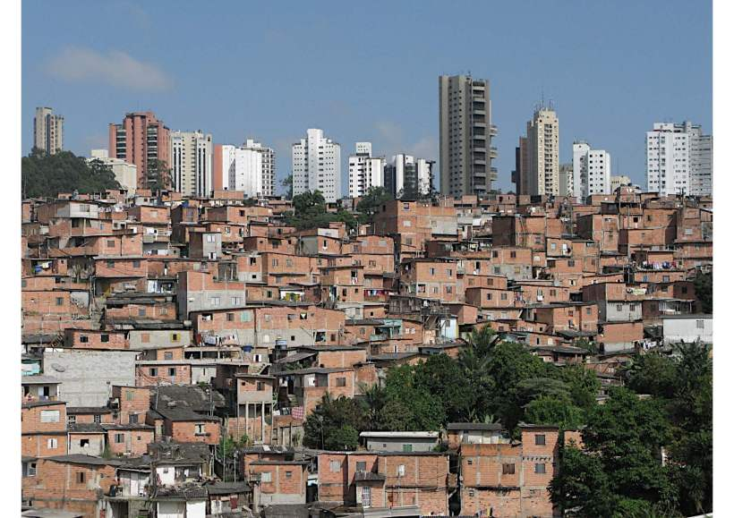 Paraisópolis favela, São Paulo, c. 2009 - Kindly supplied by Richard Williams