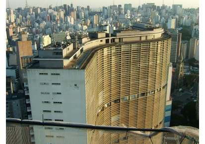 Oscar Niemeyer,Edifício Copan São Paulo (1952-61) - With thanks to Richard Williams