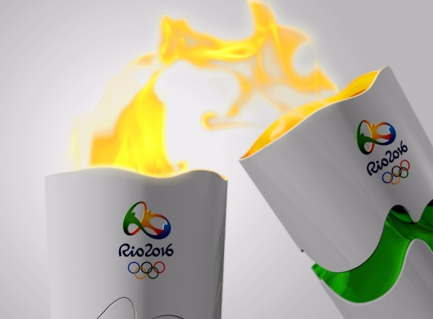The Olympic Torch © Rio 2016