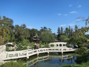 Chinese gardens at the Huntington . Courtesy of Catherine Evans