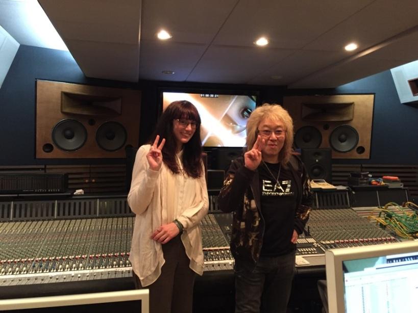 Meeting Kawai Kenji at his studio in Tokyo. Photo Courtesy of Hannah Bayley